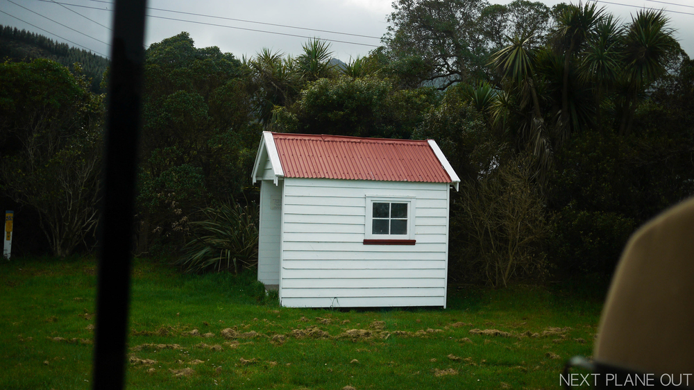 The first post office in Akaroa!